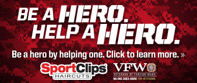 Sport Clips Haircuts of Louisville​ Help a Hero Campaign